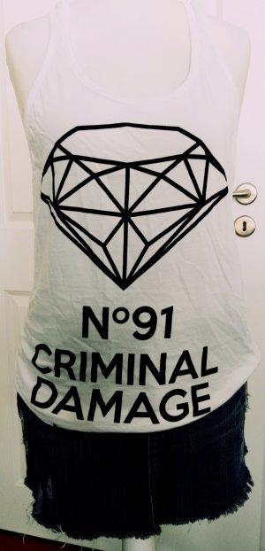 cooles tanktop criminal damage gr.l