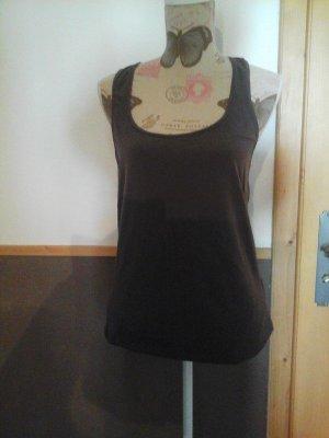 Cooles Tanktop Shirt von Vero Moda Gr. L Schlamm mit Spitze