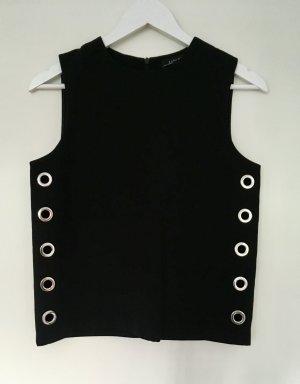 Cooles Top Oberteil Zara mit cut-outs wie Celine COS 34 Xs wie neu