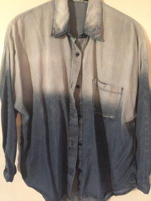 cooles verwaschenes Oversize Hemd von Mango
