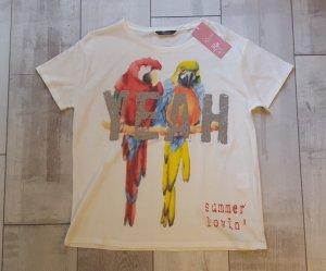 COOLES witziges Papagei  Shirt von Princess Goes Hollywood NEU mit Etikett, Gr. L
