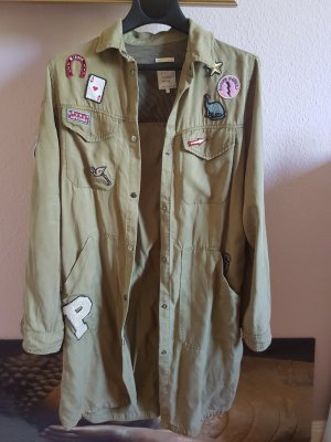 cooles Zara Hemd/Kleid mit Patches