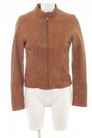 Coolwater Leather Jacket brown casual look