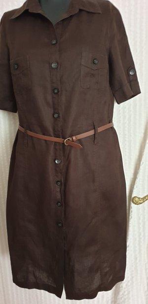Coolwater Sommerkleid,Blusenkleid  braunGr.40