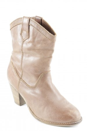 Coolway Ankle Boots braun-hellbraun Country-Look