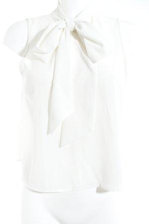 Cooperative Blouse sans manche blanc cassé-blanc tissu mixte