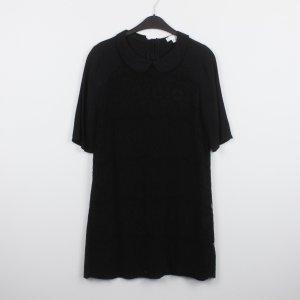Cooperative Robe trapèze noir viscose