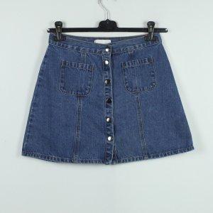 Cooperative Denim Skirt blue cotton