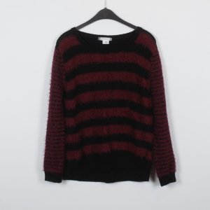 Cooperative Knitted Sweater black-purple mixture fibre