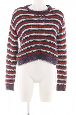 Cooperative Knitted Sweater flecked casual look