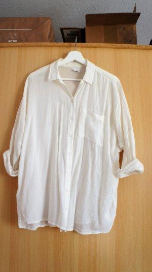 Cooperative weiße leichte Hemd