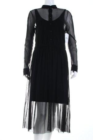 Cop Copine Abendkleid schwarz Casual-Look