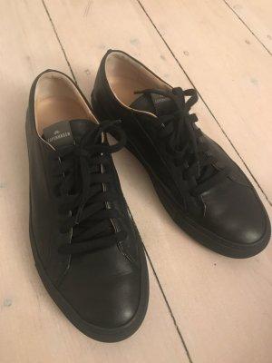 Copenhagen: schwarzer Leder Sneaker