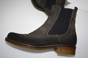 Copo da Nieve Chelsea Boots dark brown-black brown leather