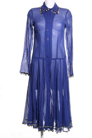 Corakempermann Hemdblusenkleid blau Elegant