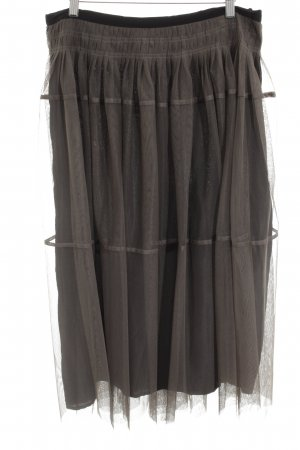 Corakempermann Maxi Skirt brown elegant