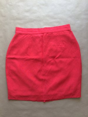 Coral Color Vintage Skirt from Italy