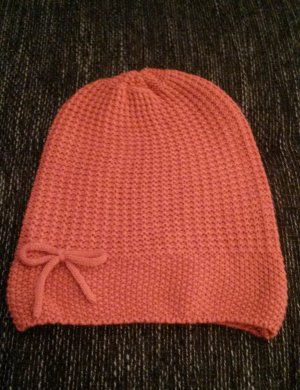 Pieces Bonnet en crochet abricot