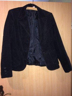 Cord Blazer von h&m in schwarz