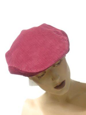 Cord -Flatcap, beerenfarbe