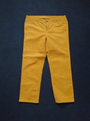 Street One Pantalón de pana naranja dorado
