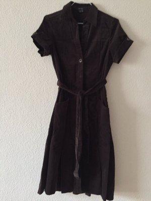 Cord Kleid, braun von Zara, XS