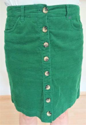 Street One Mini-jupe vert forêt coton