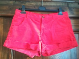 Stile Benetton Short moulant rouge