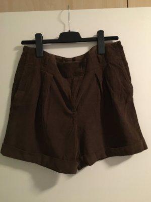 Cord-Shorts von Zara