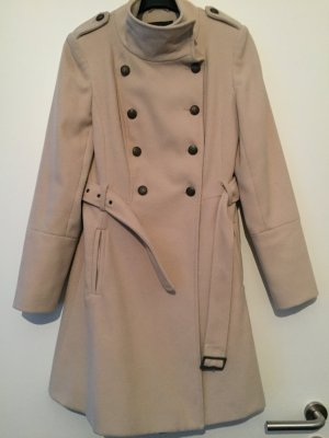 Cord Trenchcoat Military Style
