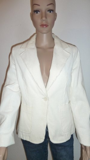 Review Veste blanc coton