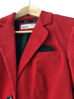 Esprit Tweed Blazer red