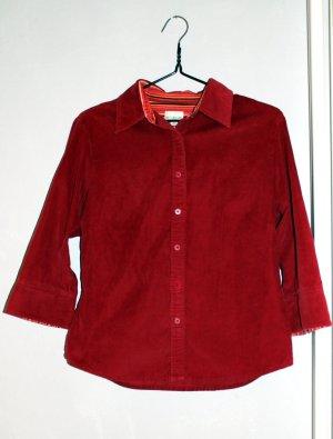Brookshire Blusa-camisa carmín