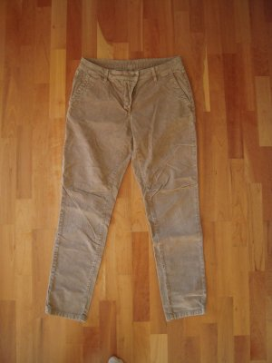 Basefield Pantalon brun sable coton