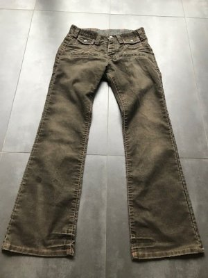 G-Star Raw Corduroy Trousers olive green
