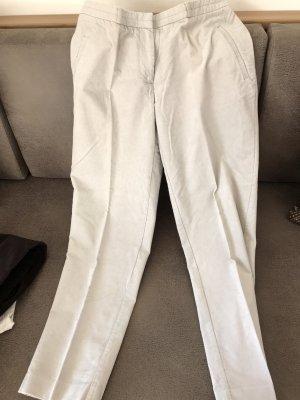 H&M Corduroy broek licht beige