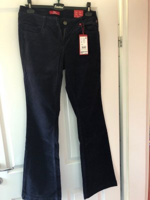 s.Oliver Corduroy Trousers dark blue