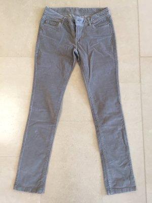 Colins Pantalone di velluto a coste argento