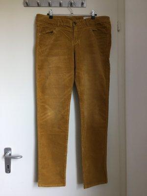 Edc Esprit Pantalone di velluto a coste multicolore