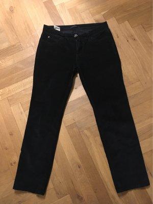MAC Jeans Pantalone di velluto a coste nero