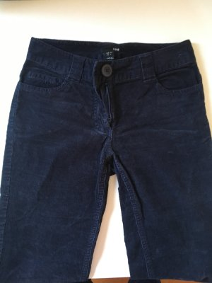 Cordhose H&M dunkelblau Gr. 34