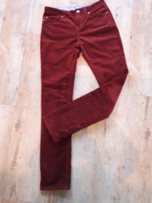 Hilfiger Collection Pantalone di velluto a coste cognac