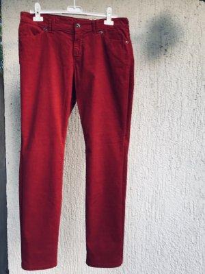 Marc O'Polo Pantalón de pana rojo amarronado