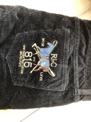 Ralph Lauren Pantalón de pana negro