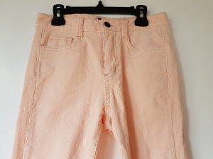 okay Pantalone di velluto a coste rosa pallido Cotone