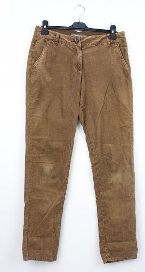 Sandwich Corduroy Trousers brown cotton