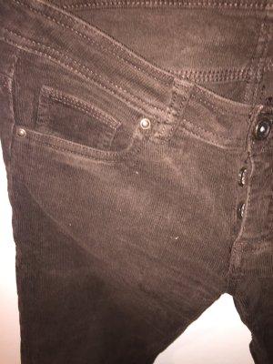 Terranova Pantalón de pana marrón
