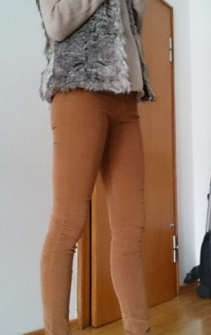 Zara Pantalon en velours côtelé multicolore