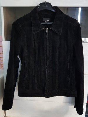 H&M Chaqueta estilo camisa negro