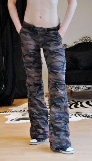 Cordon Pantalón de camuflaje multicolor
